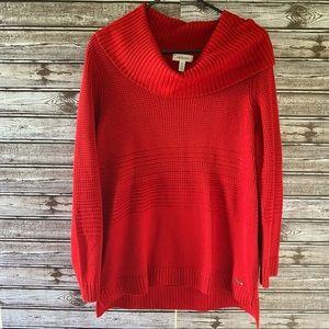 Calvin Klein Cowl-Neck Sweater Size L